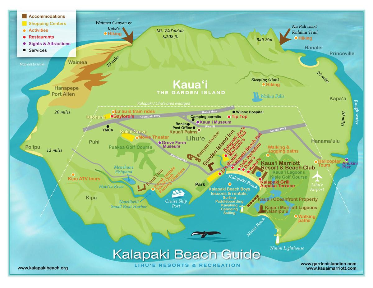 Kauai activity map