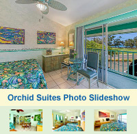 Photo Slideshow of the Orchid Suites at The Garden Island Inn
