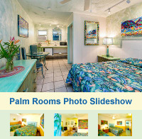 Photo Slideshow of the Palm Rooms at The Garden Island Inn