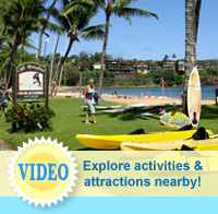 Nearby activities and attractions at The Garden Island Inn