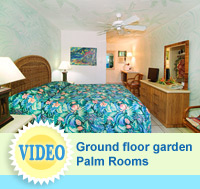 Video of the Palm Rooms at The Garden Island Inn